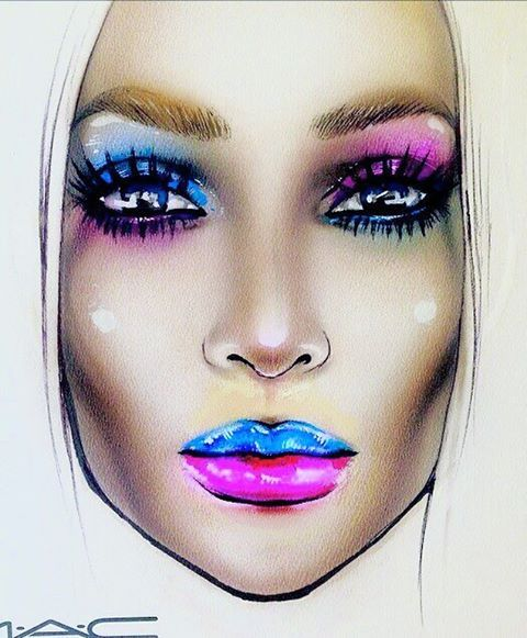 #artist@milk1412  #mylove #myart #myartistcommunity #myartistcommunityrussia #makeup #makeupart #makeupstar #makeupartist #makeuplover #macfacechart #luck #facechartartist #fashion #facechart #facechartart #faceart #визажист #макияж #макфейсчарт #фейсарт #фейсчарт #creative #creativemakeup #maccosmetics #mac #macmua #fantastic #beautiful #amazing