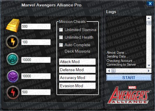 Marvel: Avengers Alliance Cheats