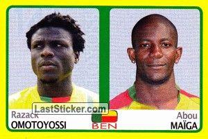 Razack Omotoyossi/Abou Maiga (Benin)