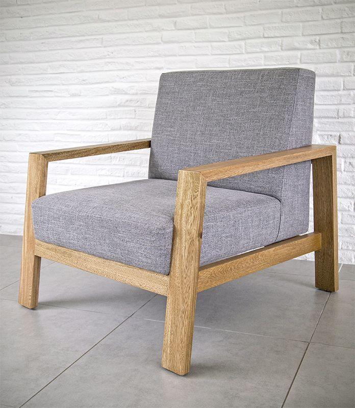 A Easy chair. Designed by Camilo Cálad for Macrocéfalo Diseño. #chair #armchair #easychair #furniture #design #poltrona #sillon #muebles #diseño
