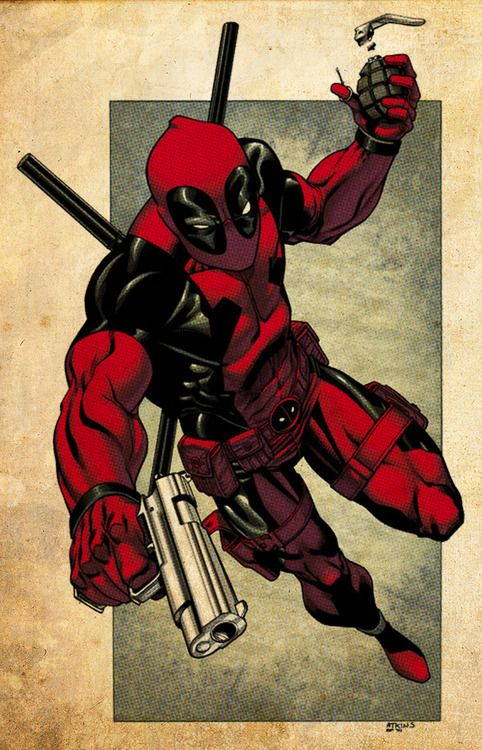 Deadpool | Comic Book Artwork