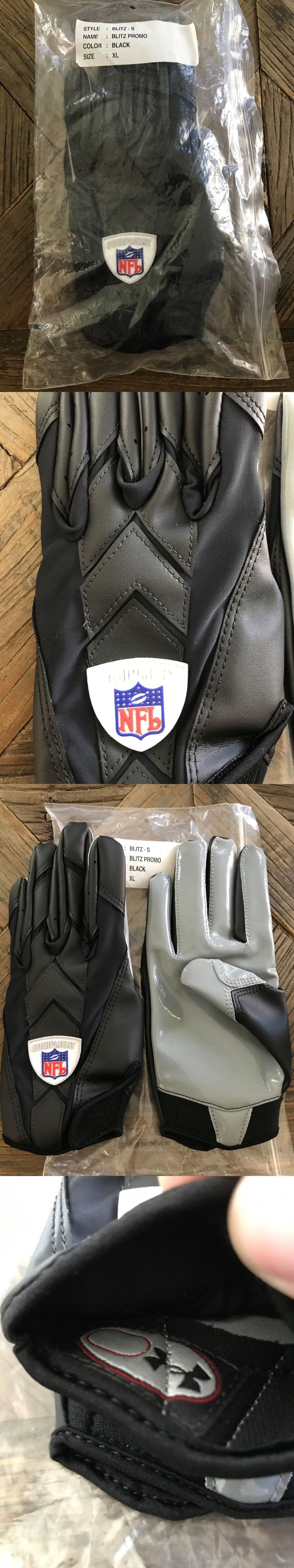 Gloves 159114: Under Armour Nfl Blitz Gloves Men - Black - Xl -> BUY IT NOW ONLY: $50 on eBay!