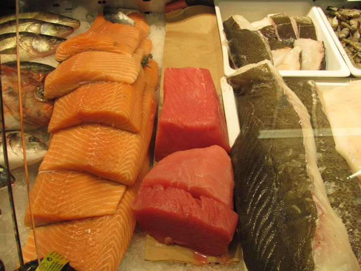 Stockholm, Sweden, Market, Fish, Lachs www.rozsakunyho.hu