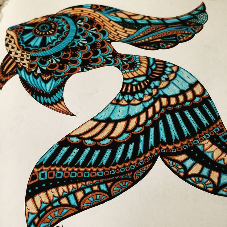 Lost ocean coloring book fish coloring page for Colorful fish book