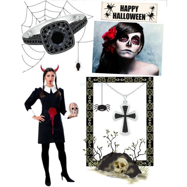 Halloween Hits! by angarainc on Polyvore featuring Rubie's Costume Co. and Sixtrees