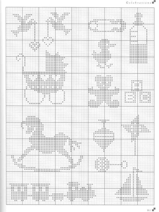 Gallery.ru / Фото #1 - Cross Stitch Silhouettes - Orlanda