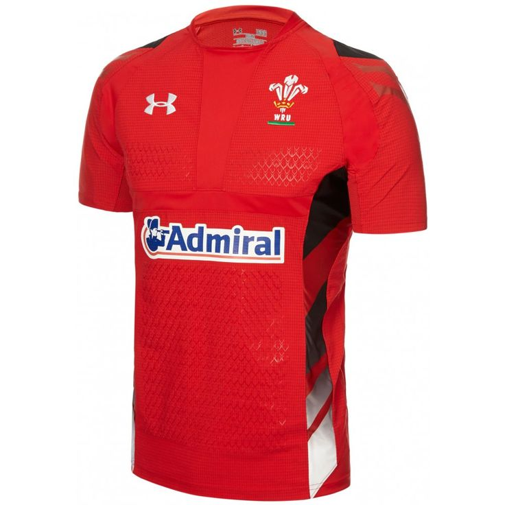 Under Armour Junior Wales Home Rugby Shirt 2013-15 - £40.00 at ShopRugby.com #Rugby #WRU #WalesRugby