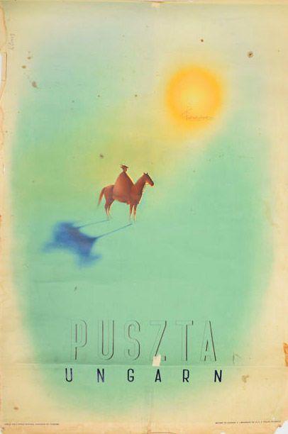 Puszta, Ungarn - 1935 - (György Kling) -