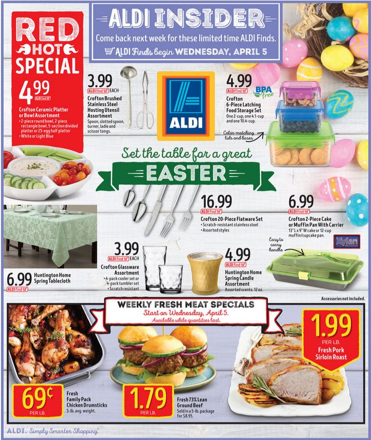 Aldi In Store Ad Starting April 5, 2017 - http://www.olcatalog.com/grocery/aldi/aldi-in-store-ad.html