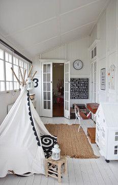 (^o^) Kiddo (^o^) Design - Kids Design Ideas, Pictures, Remodel and Decor - Indoor Tipi