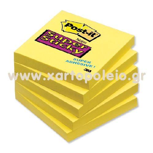 Χαρτάκια Post-IT 3M 654 76 x 76 mm 100φ