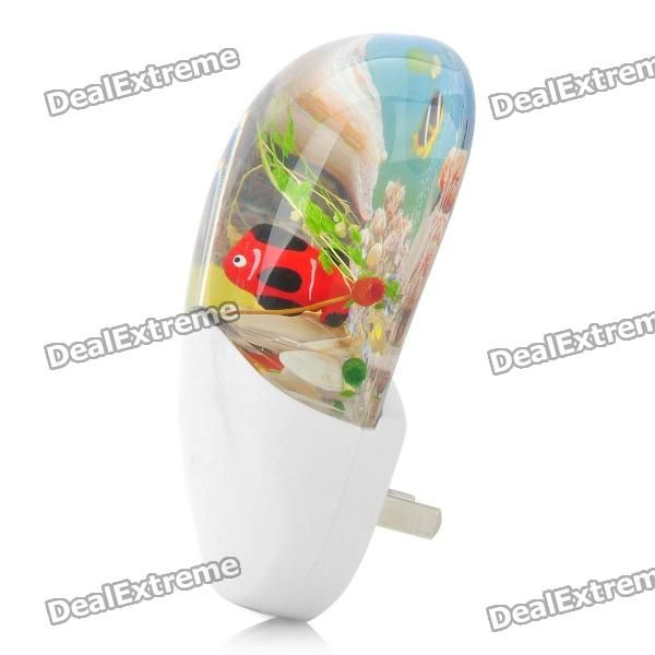 Model: NG-569; Quantity: 1 piece(s) per pack; Color: White; Material: PVC + glass; Specification: With light sensor can light up automatically when the light dimmed and shut down automatically when the light changes bright; LED Quantity: 1; LED Color: White; Other Features: Power: 0.1W; Voltage: AC 220V 50Hz; Current: 0.02A; Packing List: 1 x Night Lamp; http://j.mp/1lkz0JJ