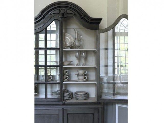 Les 25 meilleures id es de la cat gorie vaisselier blanc sur pinterest meub - Meuble blanc d ivoire ...