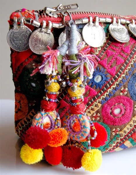 tassels and coins and colors