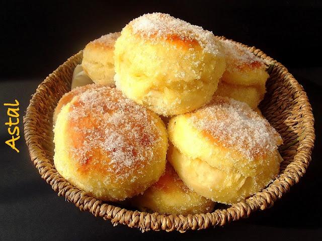 Pecene krofne .... Baked Serbian Donuts