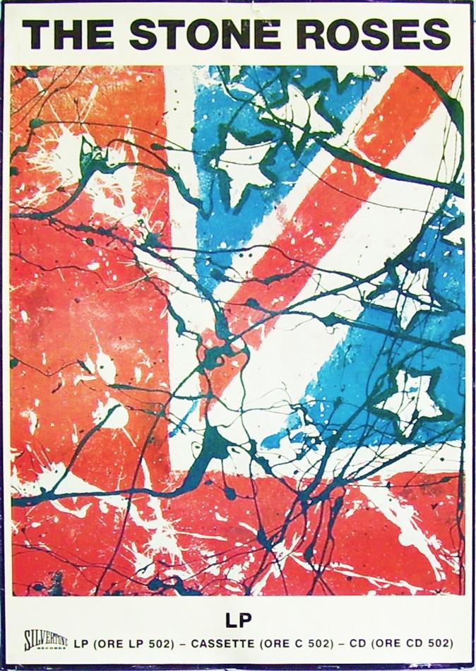 Stone Roses UK promo poster