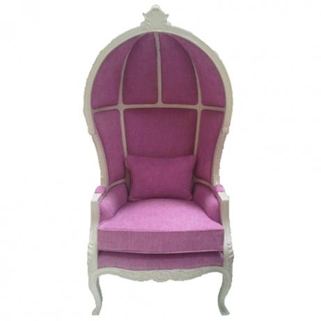 le dome chairPink Canopies, Pink Dreams, Pretty In Pink, Dreams House, Hoods Chairs, Décor Furniture, Purple Chairs, Furniture Ideas, Canopies Chairs