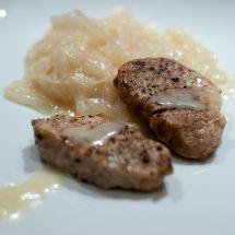 Ma recette du jour : Filet mignon aux oignons sur Recettes.net