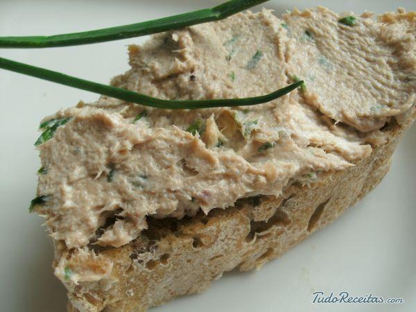 Receita de Patê de sardinha em lata - Fácil