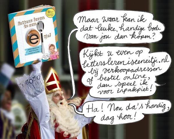 Niets meer aan toe te voegen ;-) Verkoopadressen of online bestellen boek en/of posters: www.letterslereniseeneitje.nl