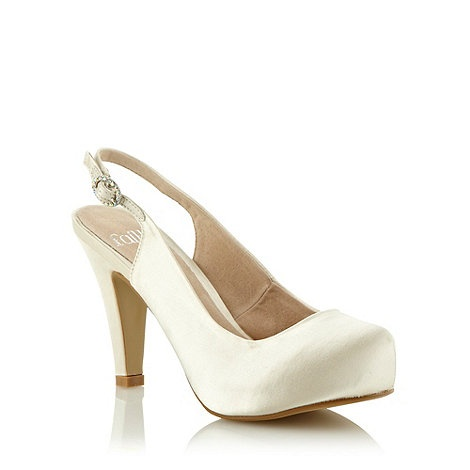 Debenhams faith shoes - satin £22.50!