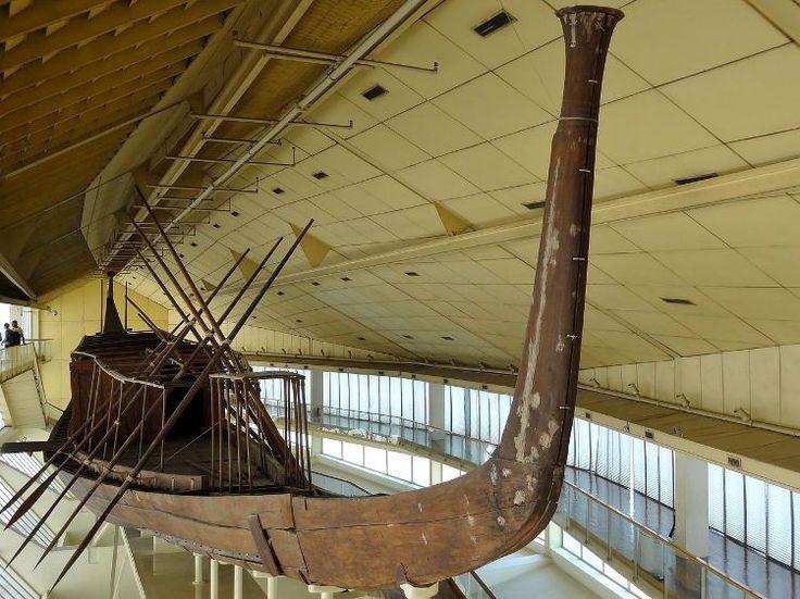 Descubren barco funerario bien conservado tumba egipcia