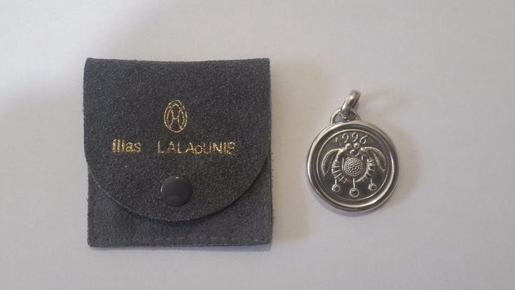 GREEK I. LALAOUNIS 1996 CRETE KNOSSOS BEE PENDANT STERLING SILVER .925 #IliasLalaounis #Pendant