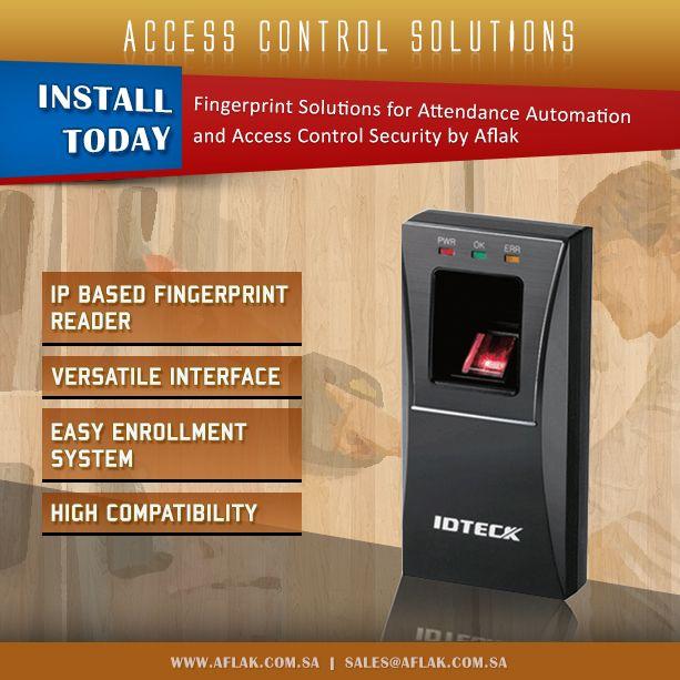 Discounts upto 45% on Idteck Biometric Devices by Aflak in Saudi Arabia, Riyadh, Jeddah & Khobar.