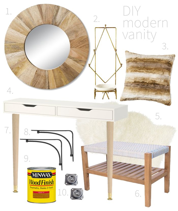 Best 25 Modern vanity table ideas on Pinterest Modern makeup