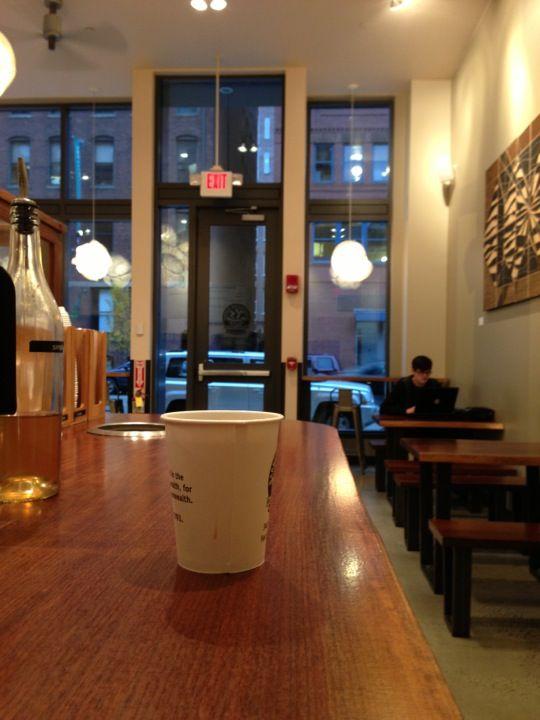 *****Barrington Coffee Roasting Company in Boston, MA