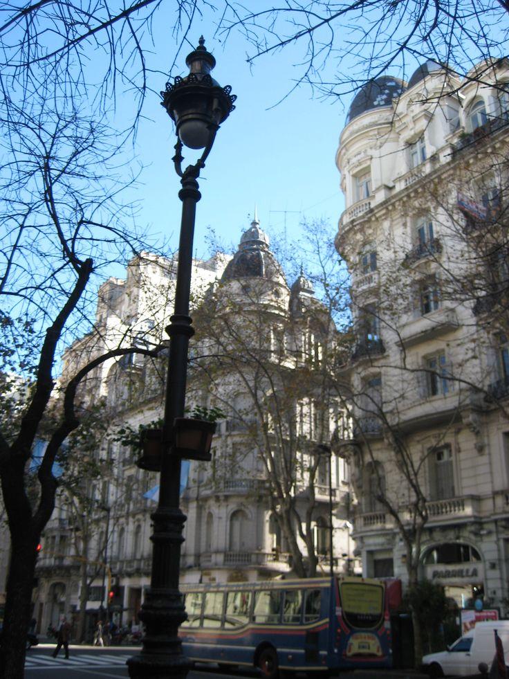 cupulas de la avenida de mayo