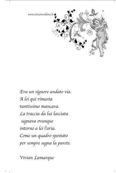 poesia di Vivian Lamarque