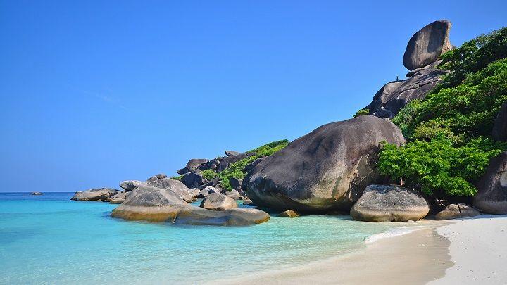 mu-koh-similan- parque nacional Tailandia