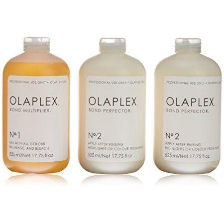 Olaplex Salon Intro Kit, 3 Ct, Clear