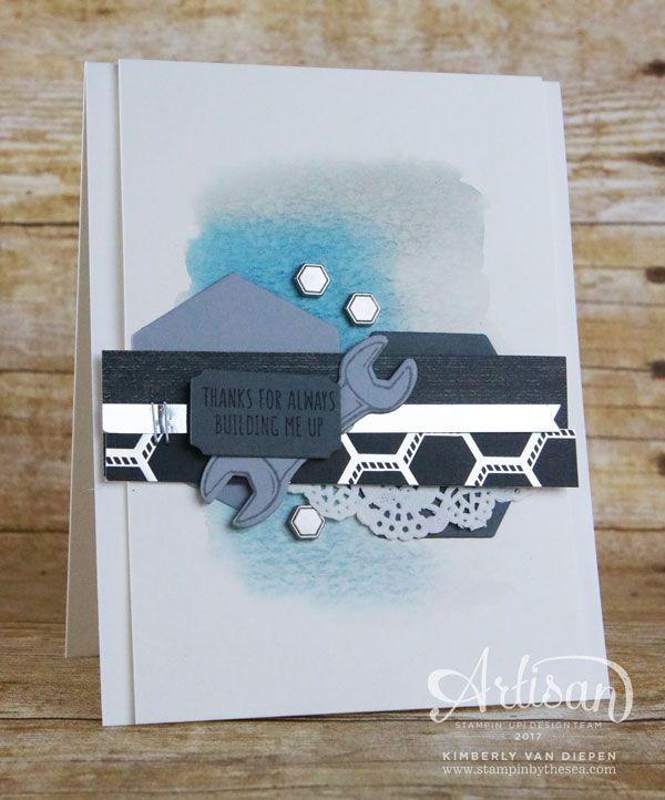 60 best stampin up nailed it images on pinterest masculine cards tutorial bundle blog hop mens cardsstampin up bookmarktalkfo Gallery