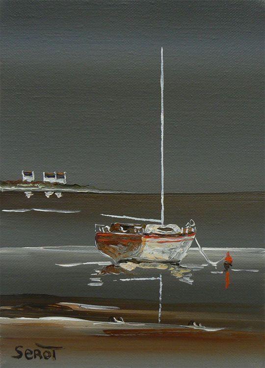 Préférence Les 25 meilleures idées de la catégorie Peinture mer sur Pinterest  EB68