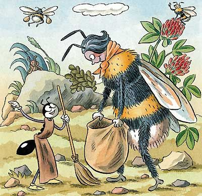 ferda mravenec ilustrace - Hledat Googlem