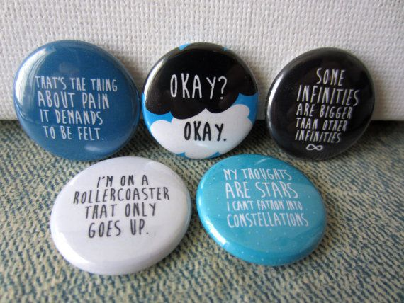 Hey, I found this really awesome Etsy listing at https://www.etsy.com/listing/158305684/the-fault-in-our-stars-pinback-button