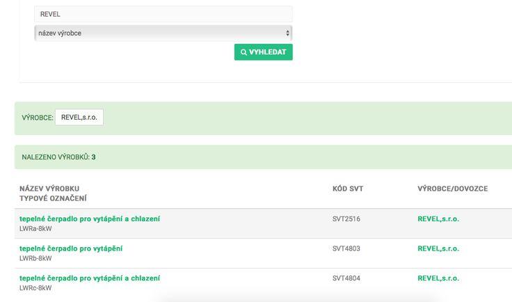 """Aplikace slouží k vyhledávání a výběru výrobků a technologií, na které lze získat podporu v programech Nová Zelená Úsporám a v tzv. """"kotlíkových dotacích"""" Operačního programu Životní prostředí 2014 – 2020."""" #kotlikovadotace  #novazelenausporam  #dotacniprogramy #app #ceskafirma #revel   #tepelnacerpadla  #tepelnapohoda"""