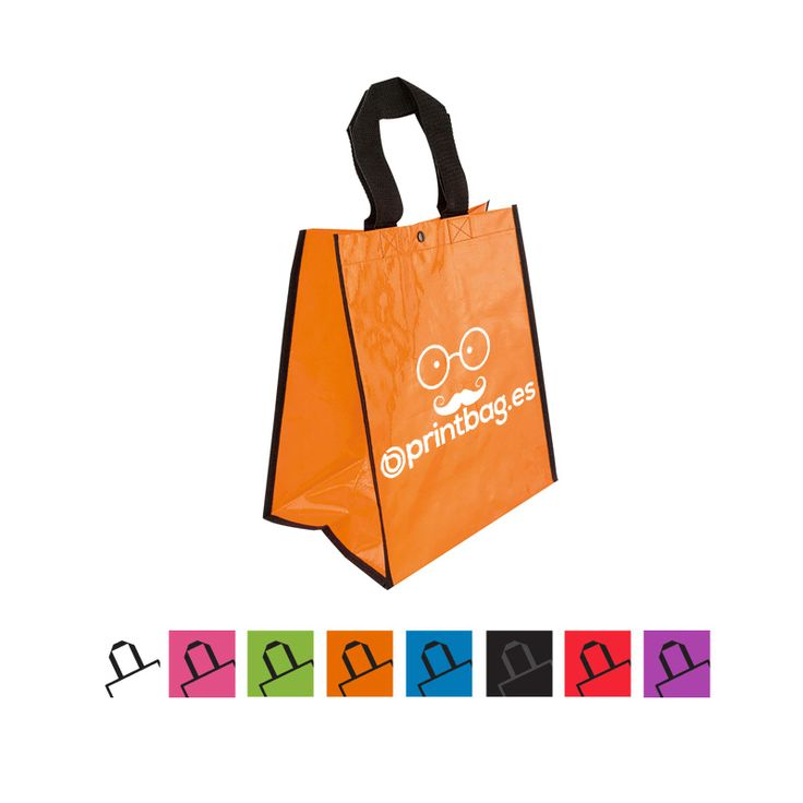 Bolsas baratas reutilizables para comprar color naranja
