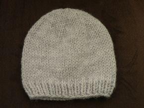 Bonnet bébé gris   tricot   Pinterest   Baby knitting, Knitting et Crochet e77f50c3795