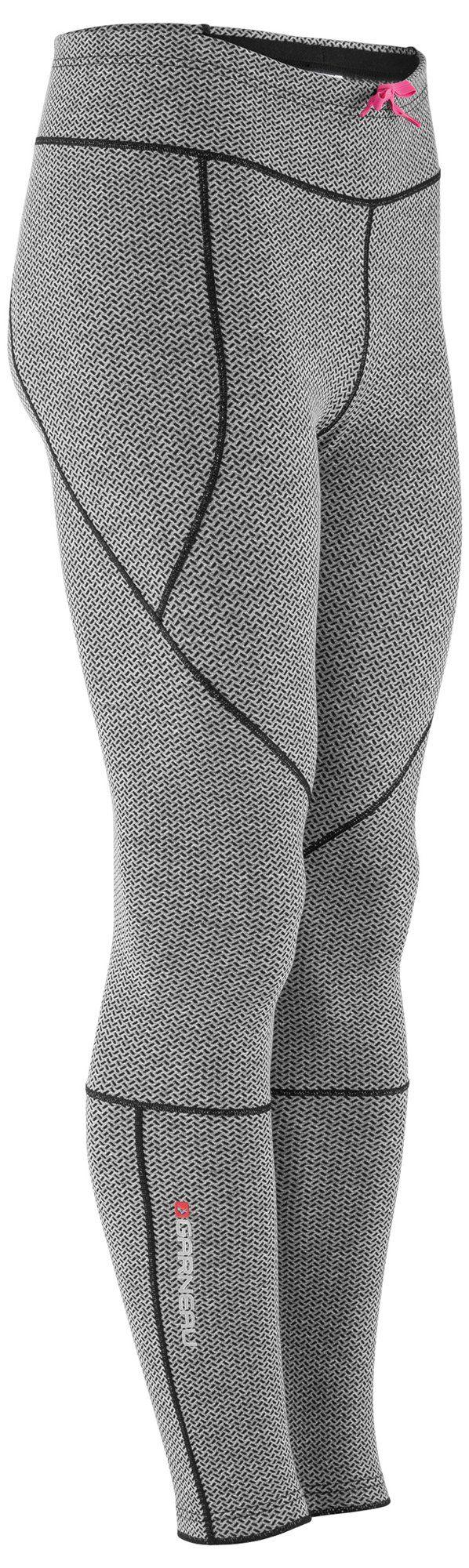 Louis Garneau Women's Stockholm Tights, Iron Gray/Asphalt, LG X One Size