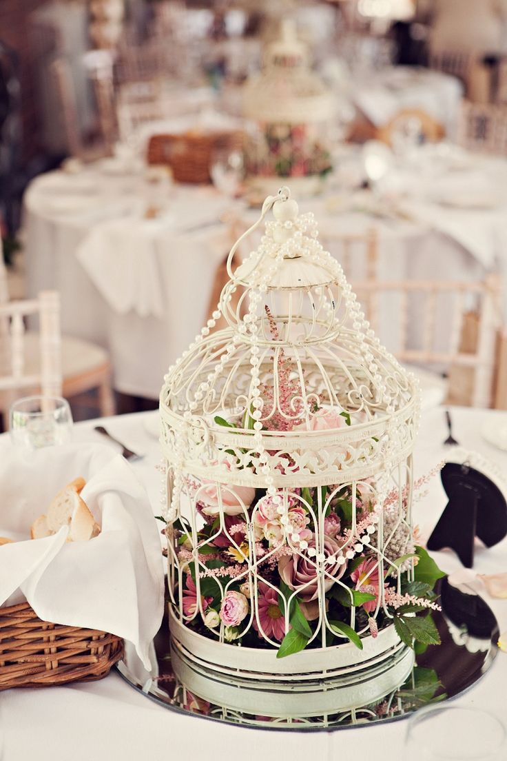 102 best Decorative cages images on Pinterest | Floral arrangements ...