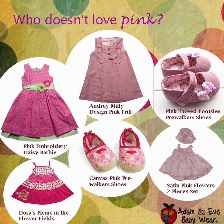 Who doesn't love pink? Items available in AU, NZ & UK.  AU site: www.adamandevebabywear.com.au NZ site: www.adamandevebabywear.co.nz UK site: www.adamandevebabywear.co.uk