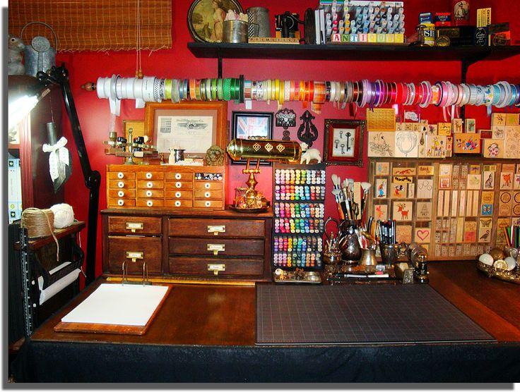 Where This Blogger Creates | Victorian Studio