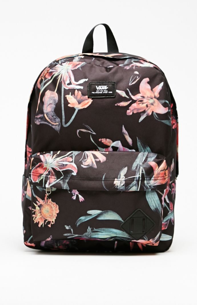 old skool ii backpack vans for flowers