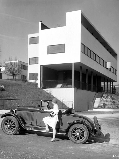 weissenhof haus - stuttgart - le corbusier - 1927