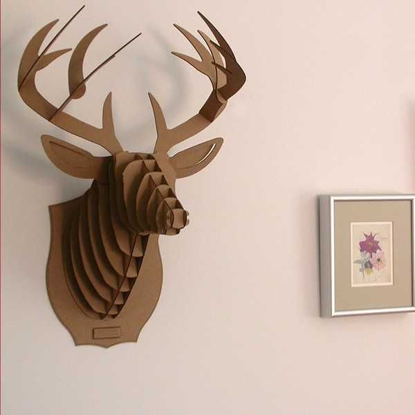 wall decorations from karton