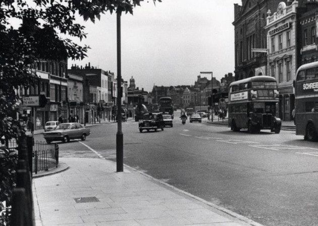 Upper Street in 1960