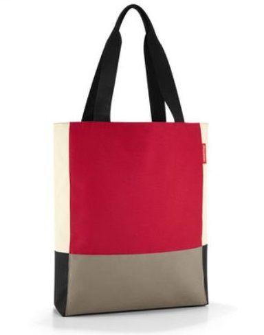 Reisenthel Shopping patchworkbag red